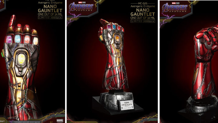 "Nano Gauntlet -Master Craft- tratto da ""Avengers: Endgame"""