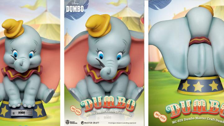 La statua di Dumbo per la linea Master Craft