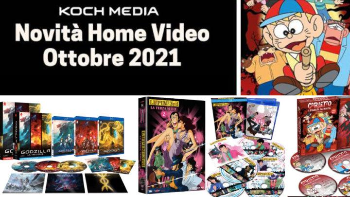 Anime Factory: Le novità Home Video di ottobre 2021