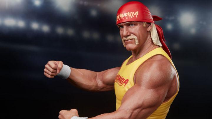 """La statua di Hulk Hogan """"Hulkmania"""" da PCS"""