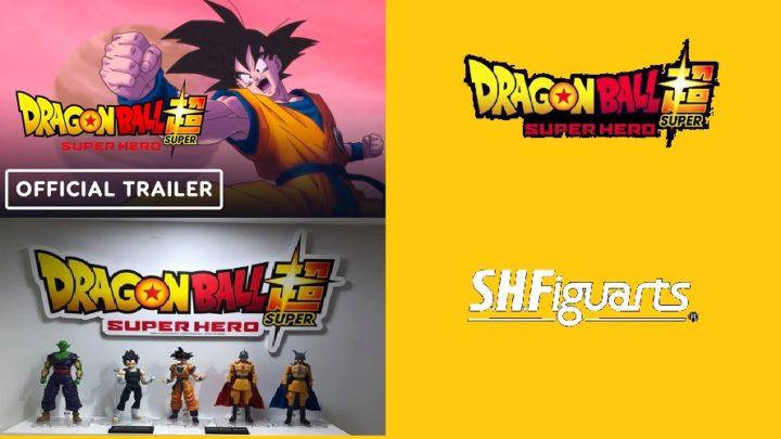 Dragon Ball Super: Super Hero Trailer del film e S.H. Figuarts
