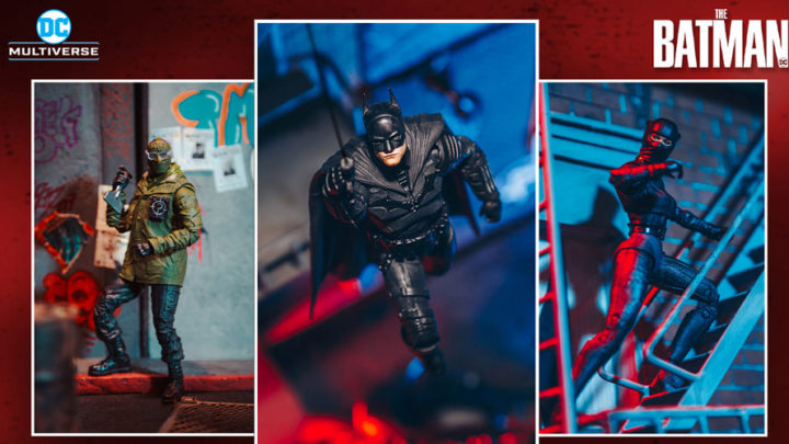 The Batman: arrivano le action figures da McFarlane