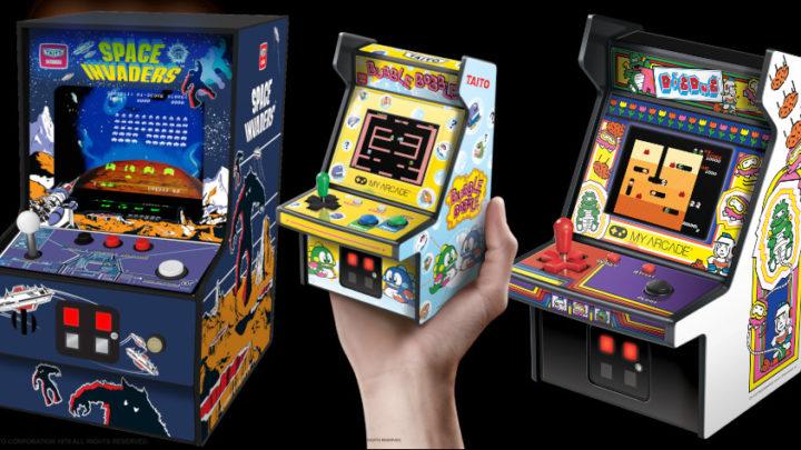 Da My Arcade le repliche dei più famosi cabinati degli anni '80