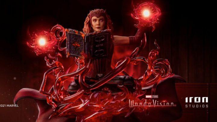 Da Iron Studios la statua di Scarlet Witch dalla serie WandaVision