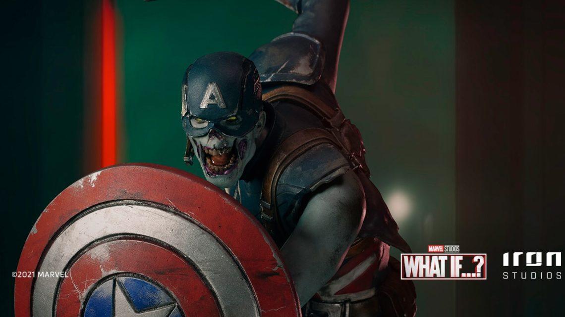 """La statua di Zombie Captain America """"What If…?"""""""