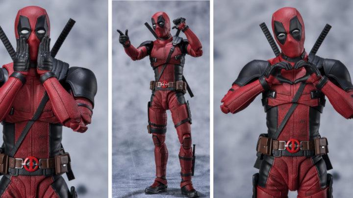 L'action figure di Deadpool per la linea S.H.Figuarts